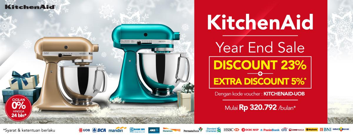 KitchenAid Year End Sale