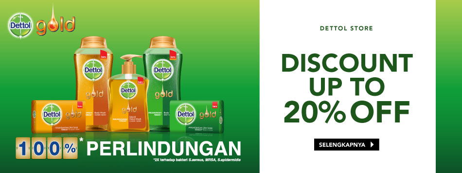 Dettol Gold Up To 20%