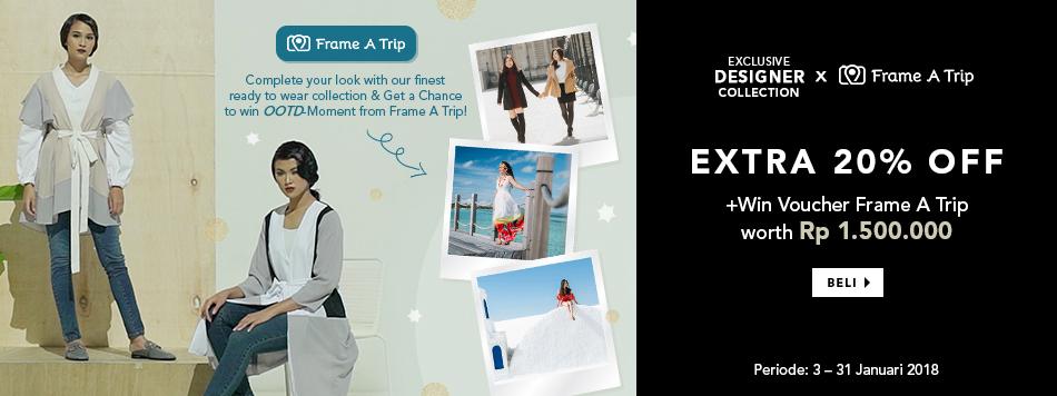 Designer x Frame A Trip