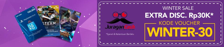 Juragan Cash Winter Sale Des 17