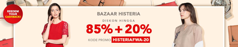 bazaar histeria