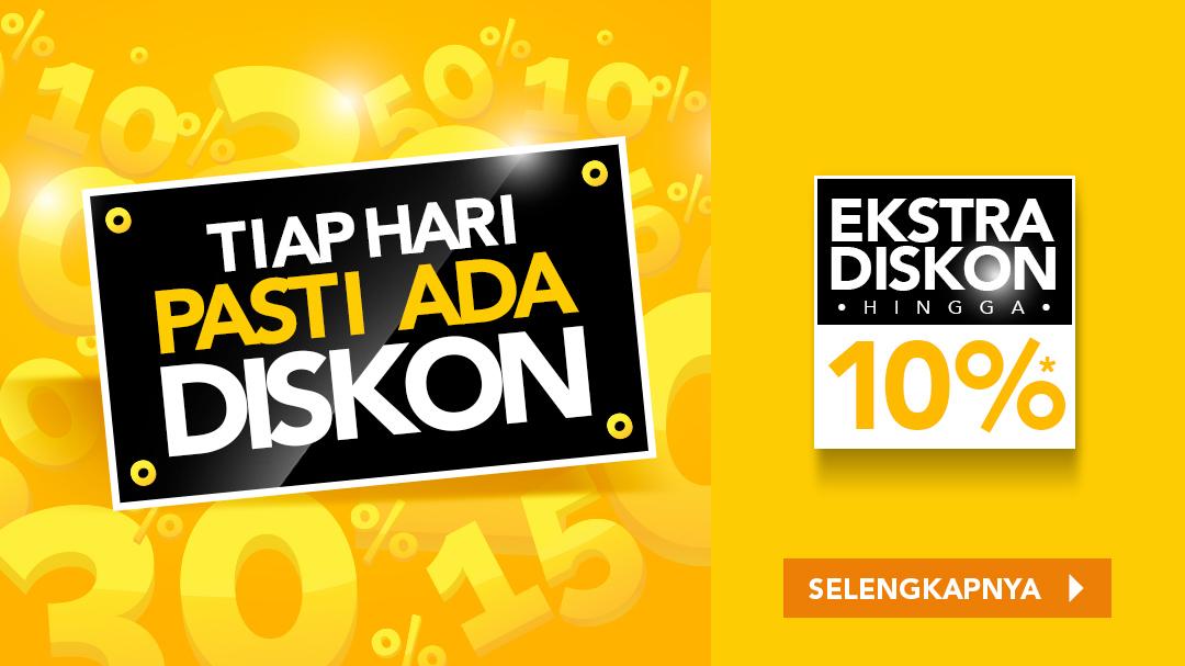 Extra Diskon Hingga 10% Gadget & Elektronik