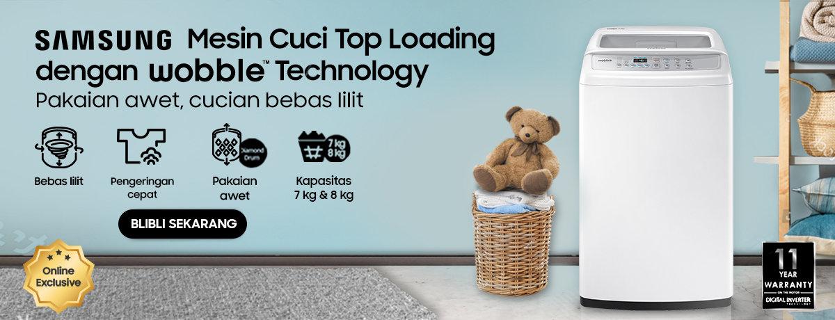 Samsung Mesin Cuci Wooble