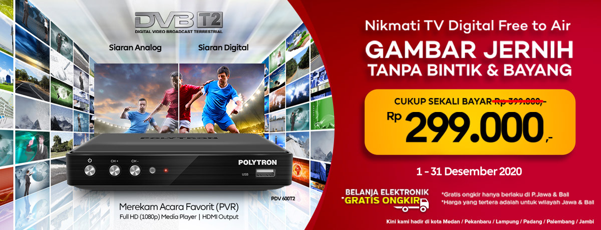 SET TOP BOX DIGITAL DVB T2