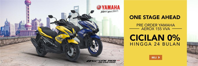 Pre Order Yamaha Aerox