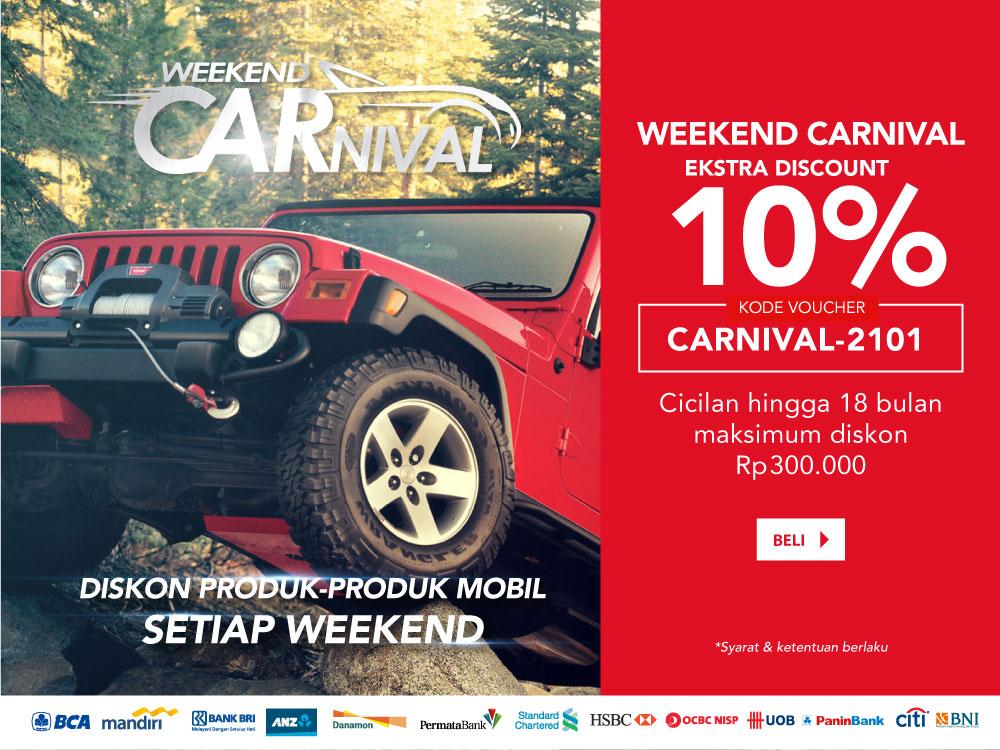 Weekend Carnival Otomotif