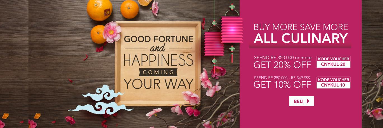 Promo Kuliner Chinese New Year