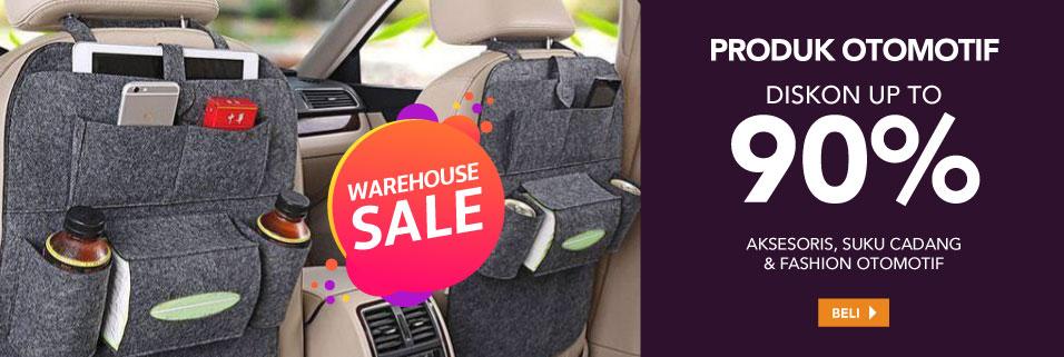 Warehouse Sale Otomotif