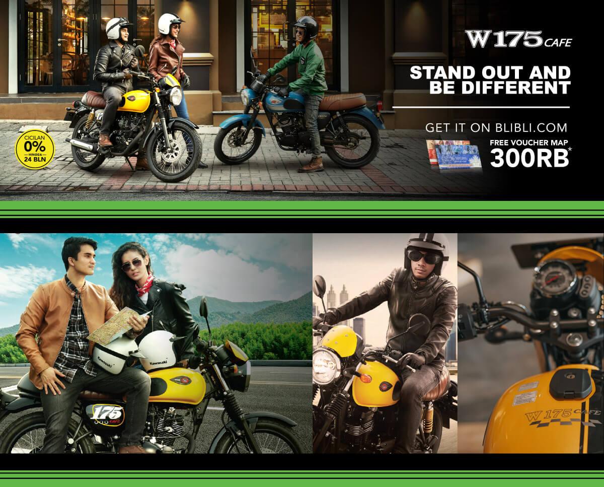 Promo Sepeda Motor Kawasaki W175 Online - Model Terbaru | Blibli.com