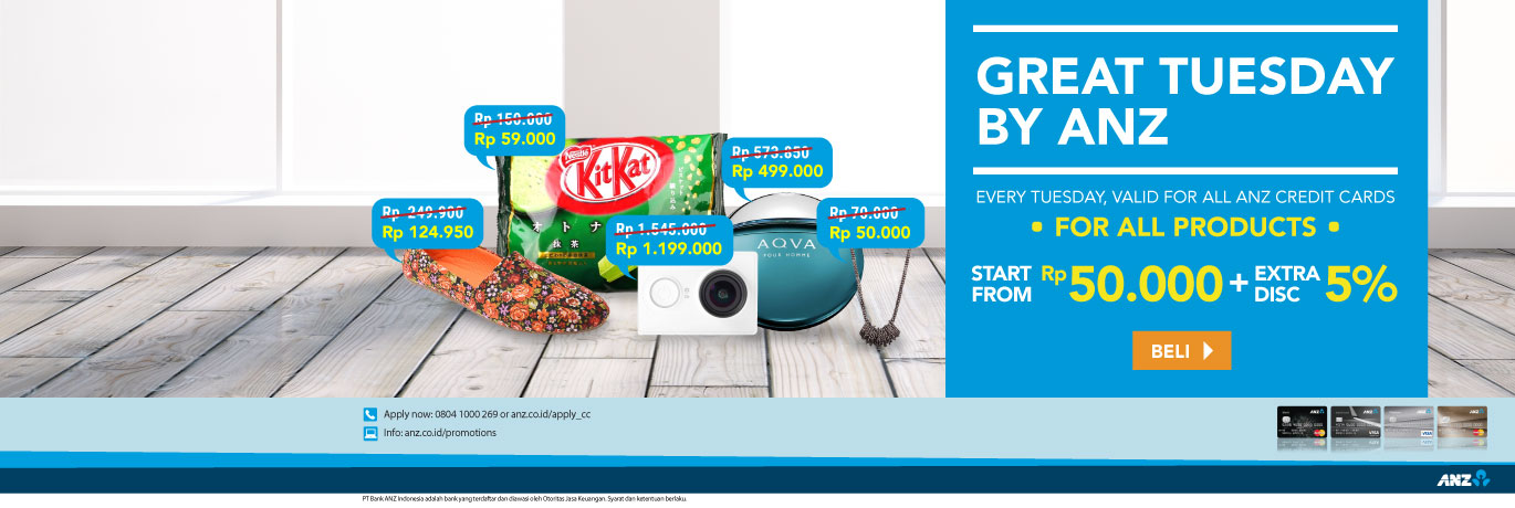 Promo Anz Great Tuesday