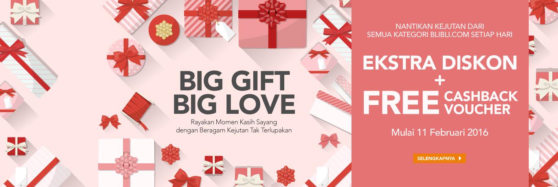Promo Big Gift Big Love