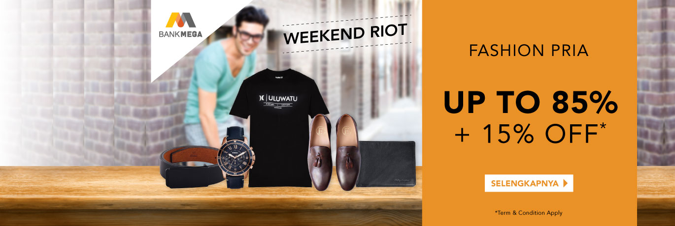 Weekend Sale Man