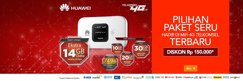 Launching Huawei Mifi E5577