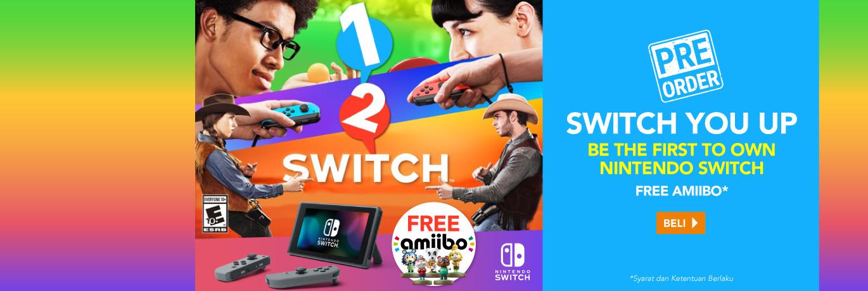Pre Order Nintendo Switch