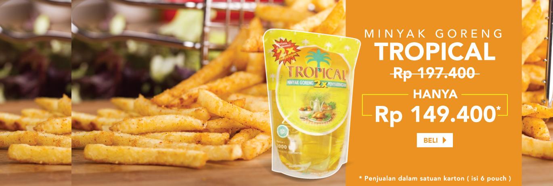 Minyak Goreng Tropical