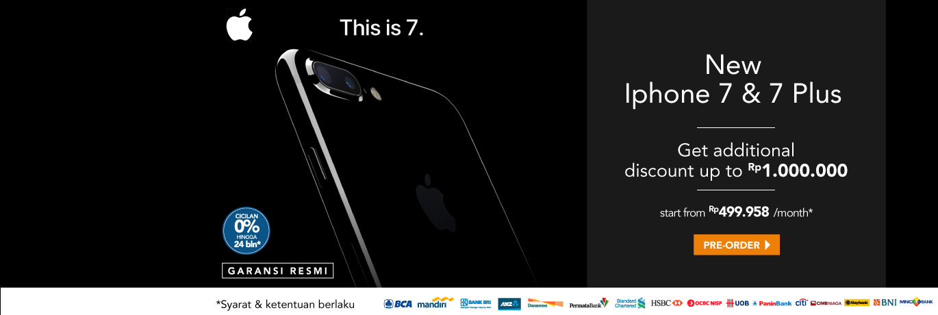 Preorder iPhone 7