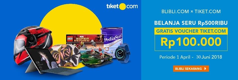 Blibli.com x Tiket.com