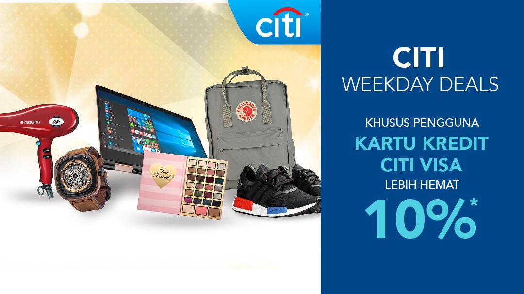 Citibank Privilege 2019 Promo Kartu Kredit Citibank Blibli Com