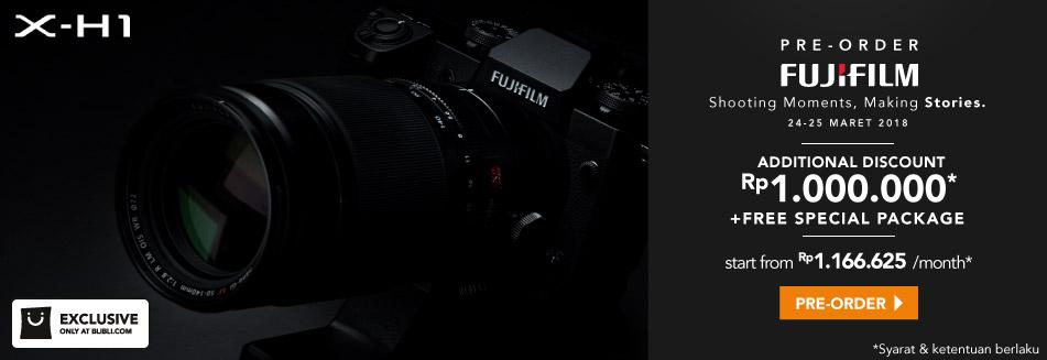 Pre 0rder Fujifilm X-H1