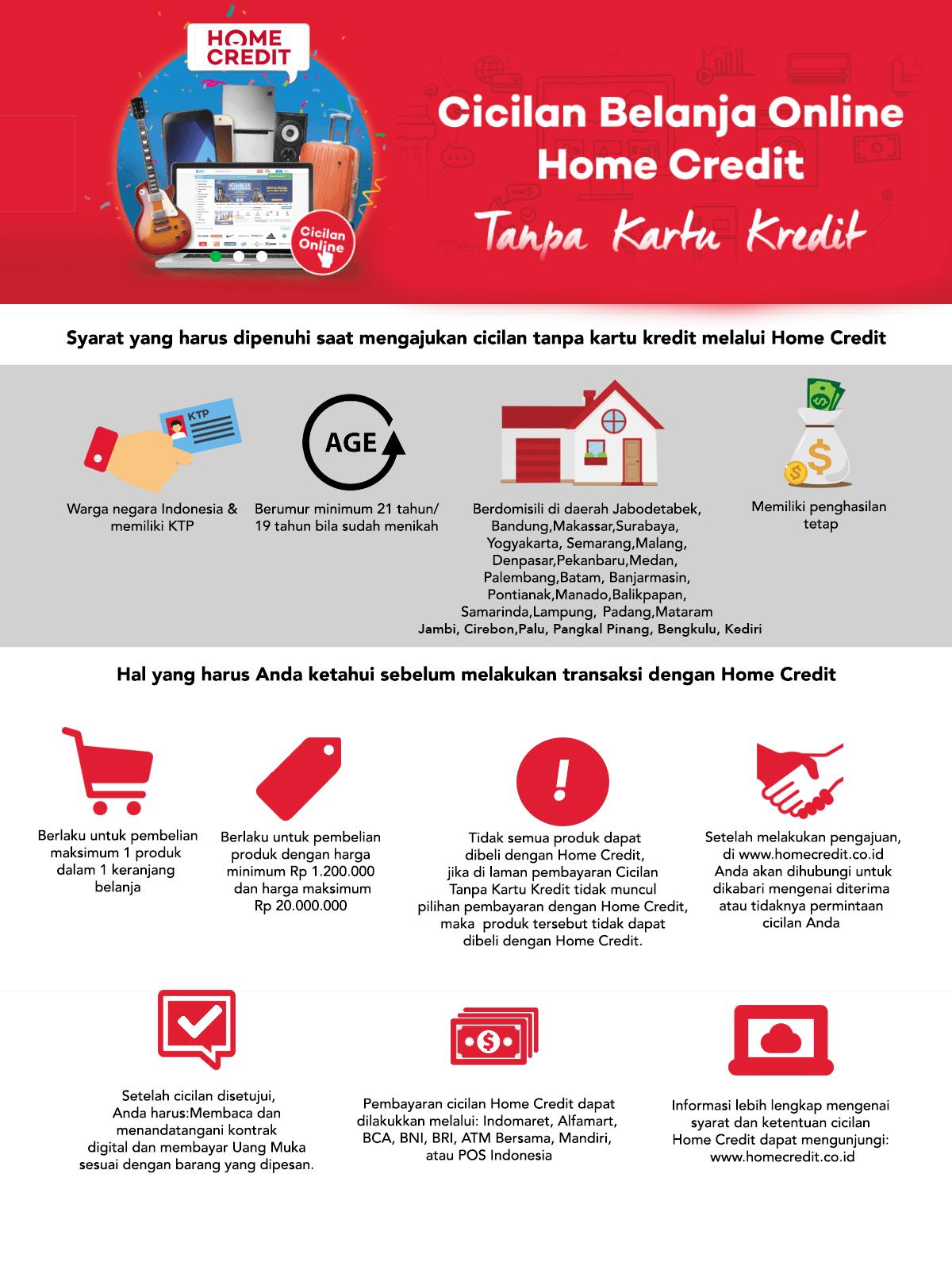 Syarat Kredit Home Credit Indonesia 2021 Pinjaman Online