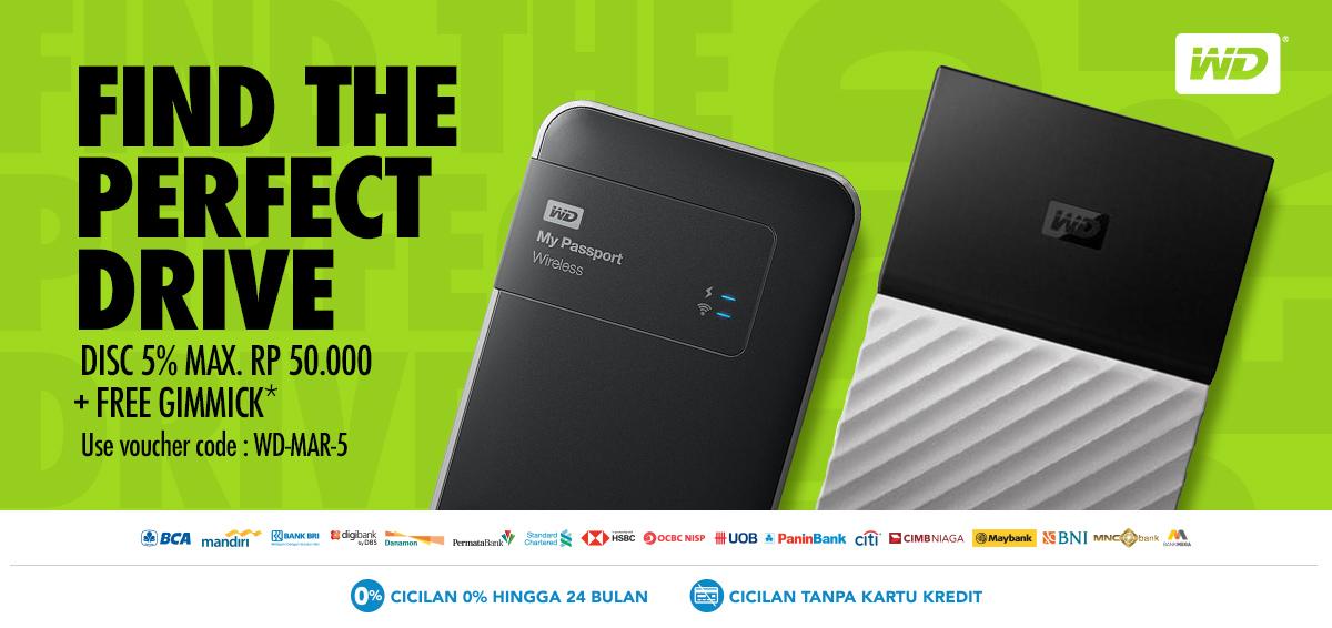 Promo Western Digital Hardisk Terbaru - Diskon 5% | Blibli.com