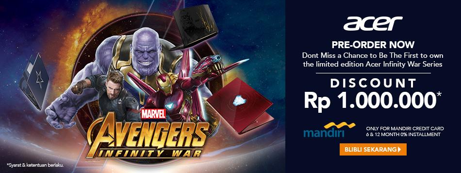 Pre Order Acer Avengers