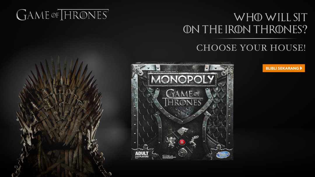 Monopoli Game Of Thrones