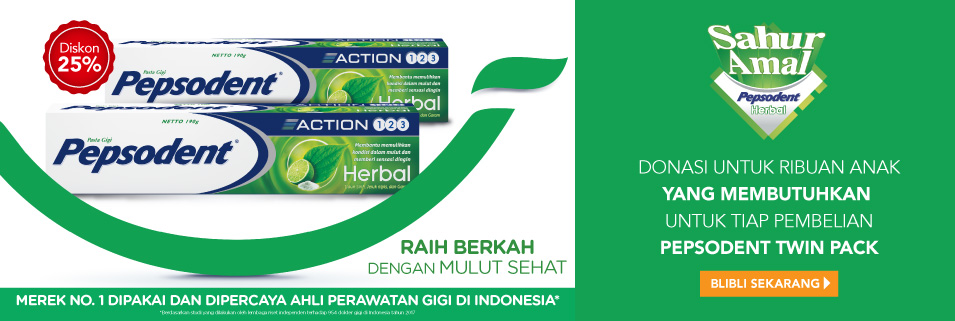 Pepsodent Herbal
