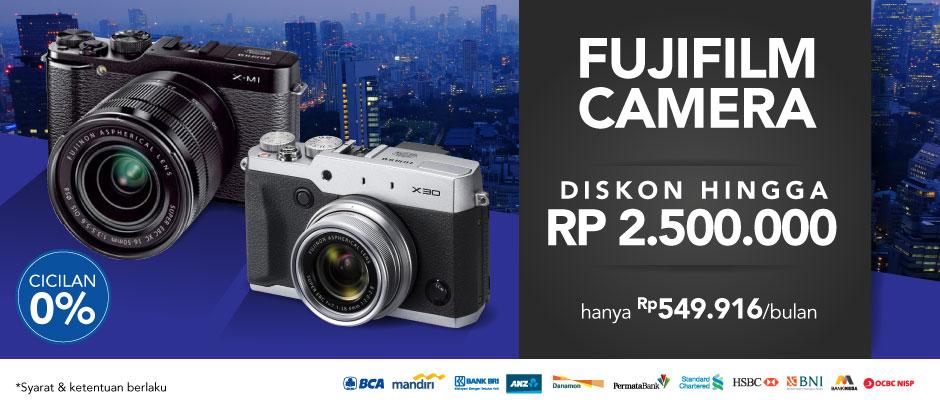 DIskon Kamera Fujifilm | Blibli.com
