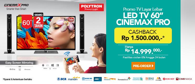 Polytron Cinemax 60 Inch