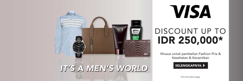 Promo Visa Men World
