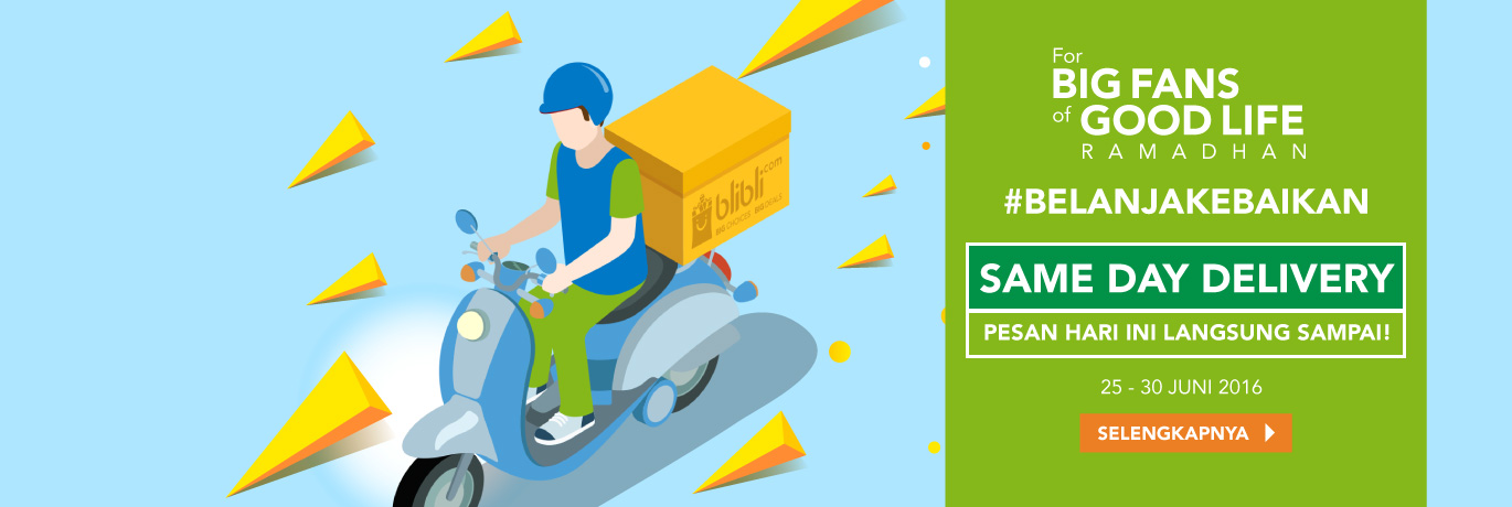 Promo Same Day Delivery