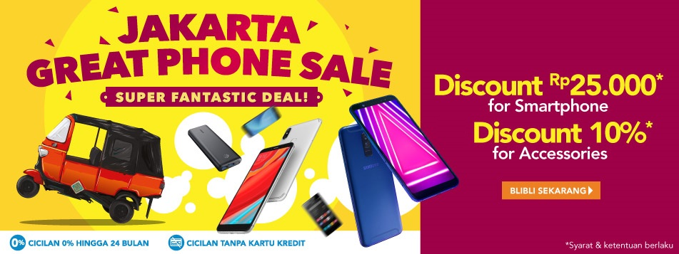 Jakarta Great Phone Sale