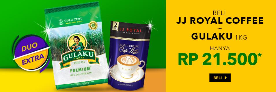 JJ Royal Coffee + Gulaku