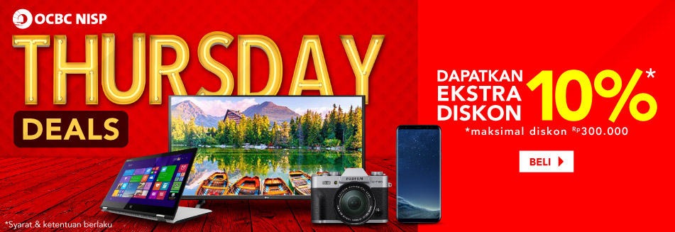 Promo OCBC Thursday Deals