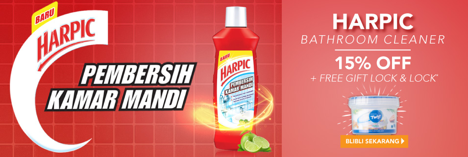 Harpic Exclusive Launch
