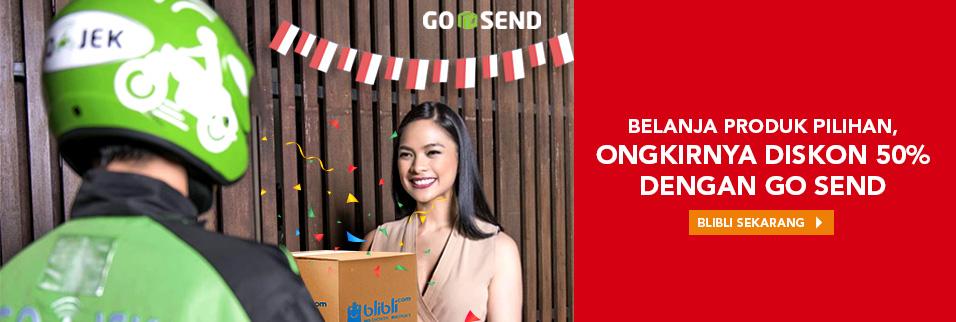 Belanja di Blibli.com Pakai Go Send