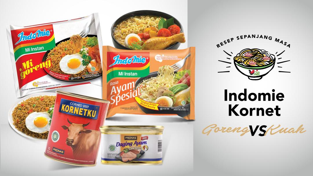Resep Sepanjang Masa - Indomie Kornet | Blibli.com