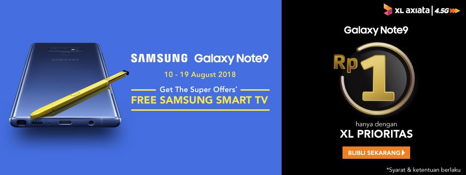 Samsung Galaxy Note 9 XL Prioritas