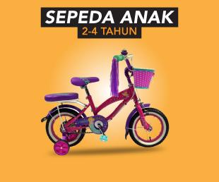Jual Sepeda Anak BMX, United dll Terbaru & Termurah 2018