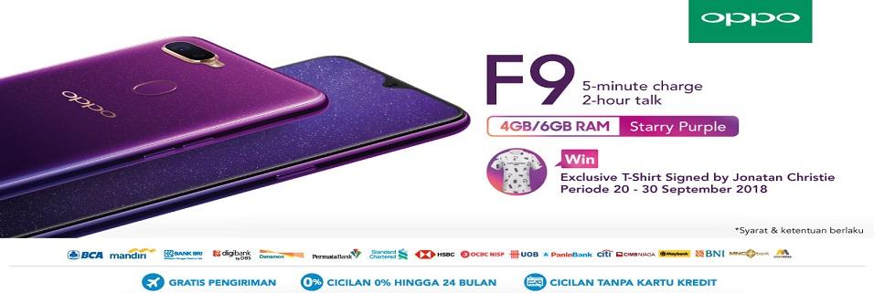 Oppo F9 Purple