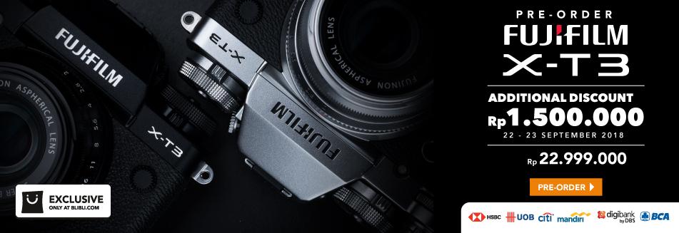Preorder Fujifilm X-T3
