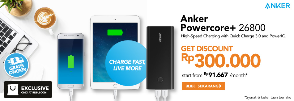 Powerbank Anker Powercore