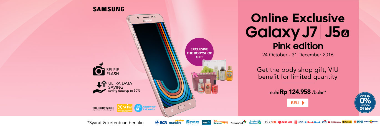 Samsung J Series Pink