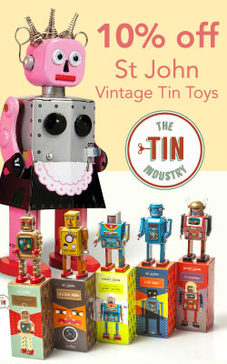 Saint John Tin Toys by Tin Industry