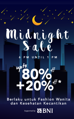 Midnight Sale!