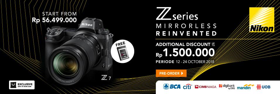 Preorder Nikon Z