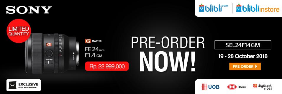 Pre Order Sony