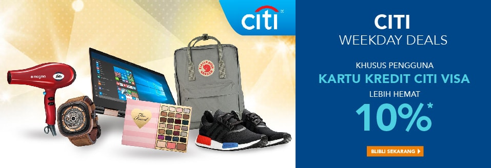 Citi Weekday Deals