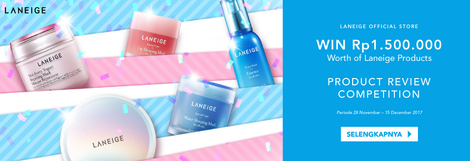 Laneige Review Competition